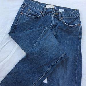 Gap boy fit distressed denim jeans